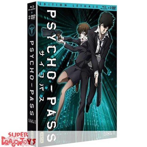 KANA HOME VIDEO PSYCHO-PASS - BOX 1 - EDITION LETALE COMBO DVD + BLU RAY