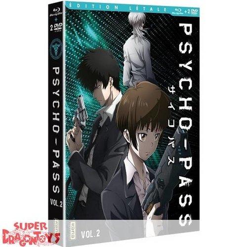 KANA HOME VIDEO PSYCHO-PASS - BOX 2 - EDITION LETALE COMBO DVD + BLU RAY