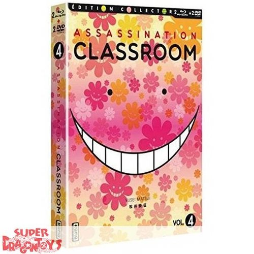 KANA HOME VIDEO ASSASSINATION CLASSROOM - BOX 4 - COMBO DVD + BLU RAY