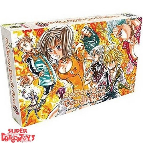 "KANA HOME VIDEO SEVEN DEADLY SINS - SAISON 1 - EDITION COLLECTOR LIMITEE - COFFRET FORMAT ""A4"""
