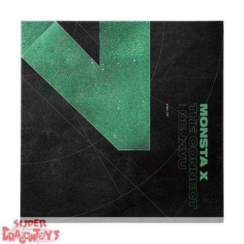 "MONSTA X - THE CONNECT : DEJA VU - VERSION ""IV"" - 6TH MINI ALBUM"