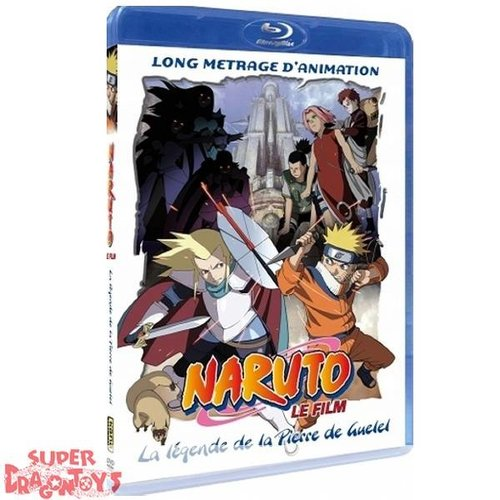 KANA HOME VIDEO NARUTO - FILM 2 - LA LEGENDE DE LA PIERRE DE GUELEL - BLU RAY