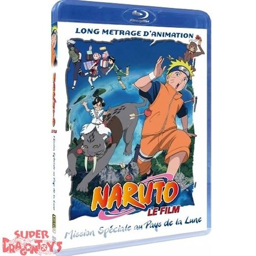 KANA HOME VIDEO NARUTO - FILM 3 - MISSION SPECIALE AU PAYS DE LA LUNE - BLU RAY