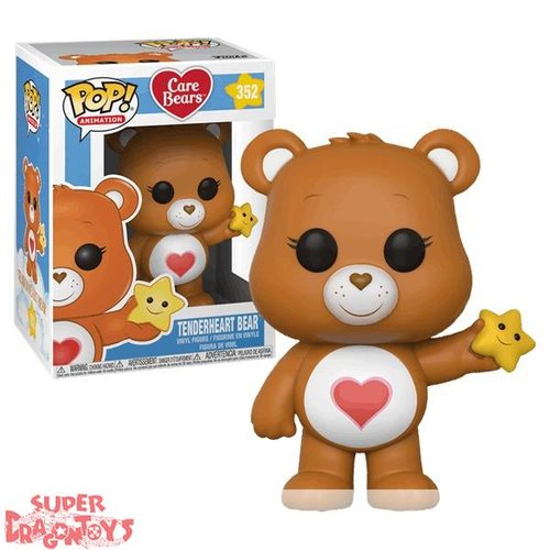 FUNKO  CARE BEARS (LES BISOUNOURS) - TENDERHEART BEAR - FUNKO POP
