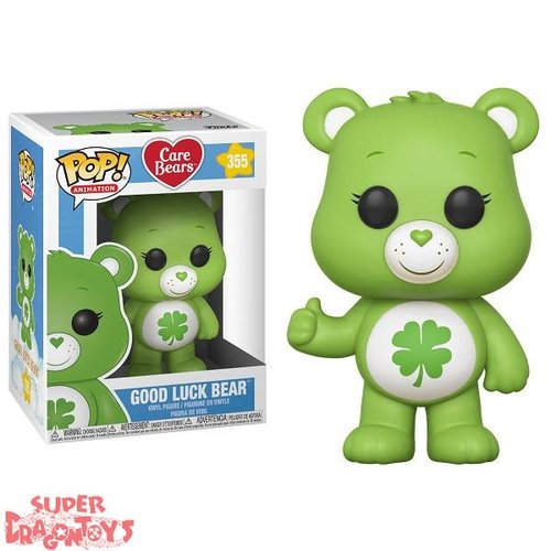 FUNKO  CARE BEARS (LES BISOUNOURS) - GOOD LUCK BEAR - FUNKO POP