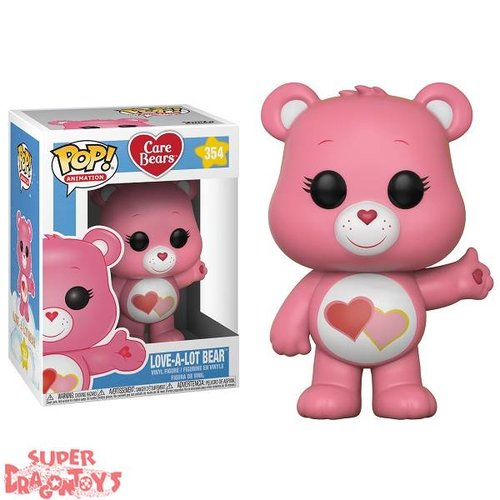 FUNKO  CARE BEARS (LES BISOUNOURS) - LOVE-A-LOT BEAR - FUNKO POP