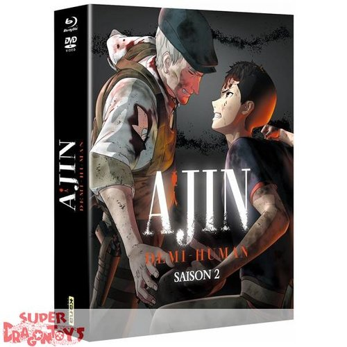 KANA HOME VIDEO AJIN : DEMI-HUMAN - SAISON 2 - INTEGRALE EDITION COLLECTOR - COMBO DVD + BLU RAY