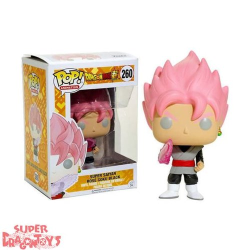 FUNKO  DRAGON BALL SUPER - SUPER SAIYAN ROSE GOKU BLACK - FUNKO POP LIMITED EDITION