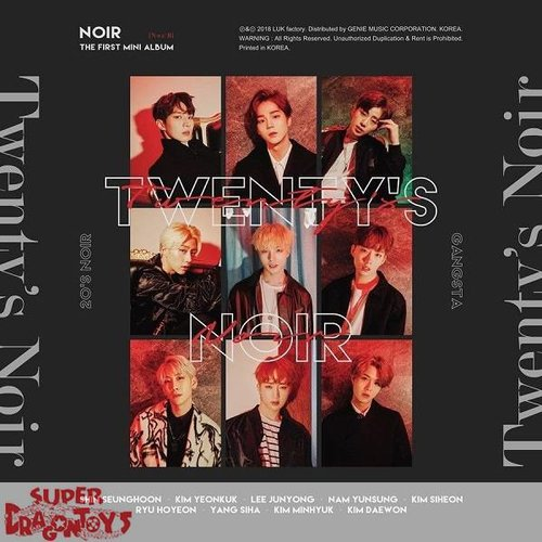 NOIR - TWENTY'S NOIR - 1ST MINI ALBUM