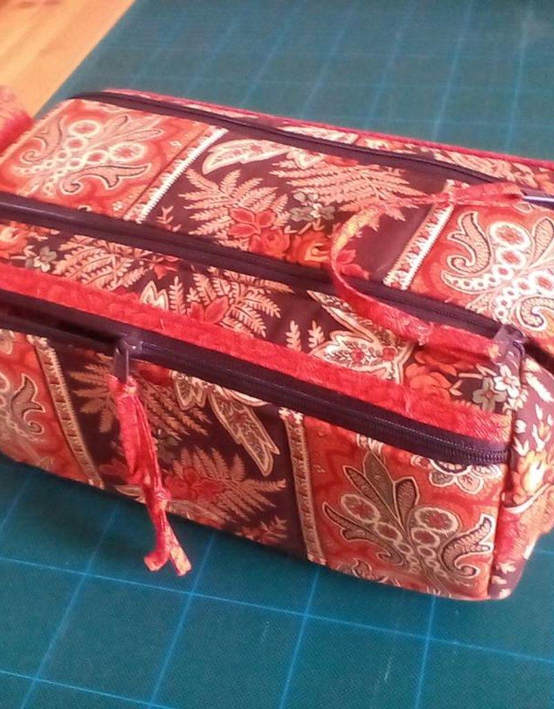byAnnie Double Zip Gear Bag - geräumige Kulturtasche