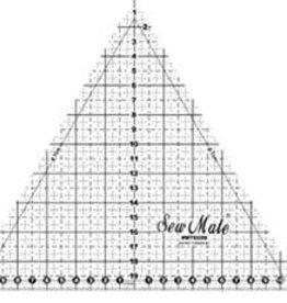 Sew Mate Gleichs. Dreieck 20 cm
