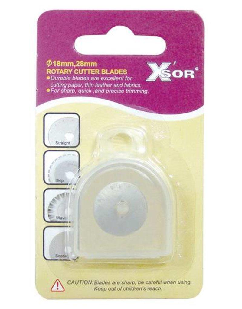 X-sor 2 Stück 18 mm Rollschneider-Ersatzklingen