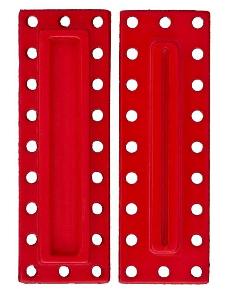 Union Knopf Polyester-Druckknopf rechteckig