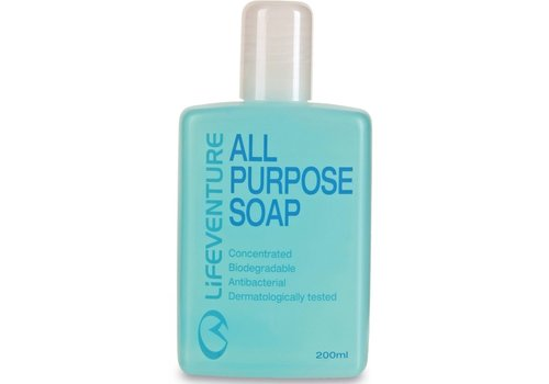 Lifeventure Lifeventure All Purpose Soap 200ml