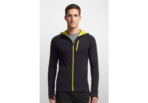 Icebreaker Icebreaker Quantum Long Sleeve Zip Hood - Men's