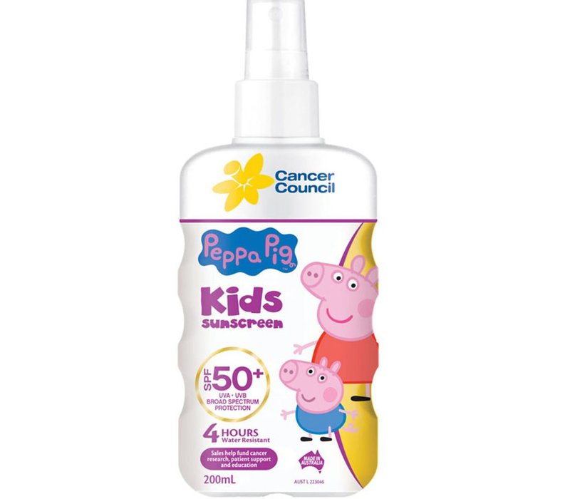 Cancer Council Australia Kids (PP) Finger Spray SPF 50, 200ml