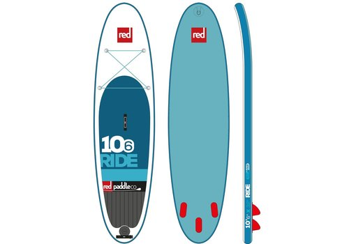 "Red Paddle Co Red Paddle Co 10'6"" Ride Inflatable SUP Board (2017)"
