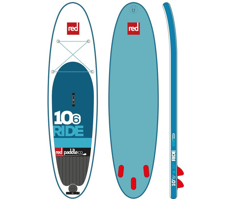 """Red Paddle Co Ride 10'6"""" Inflatable SUP 2017"""