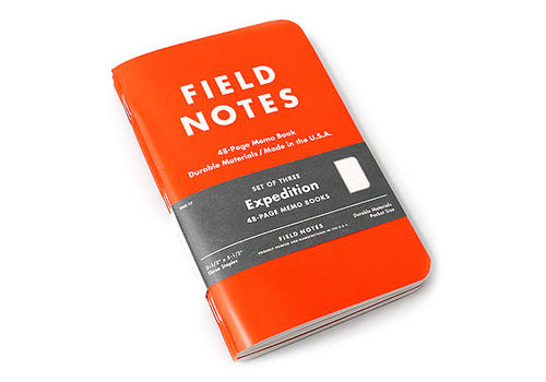Field Notes Field Notes Expedition | Three Waterproof Note Book