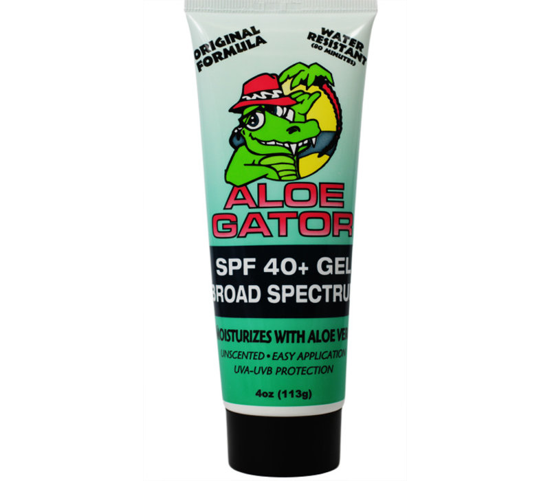 Aloe Gator SPF 40+ Transparent Sun Protection Gel