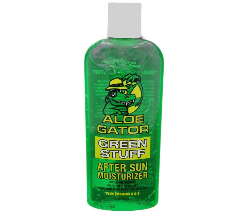 Aloe Gator Green Stuff Aloe Vera Gel