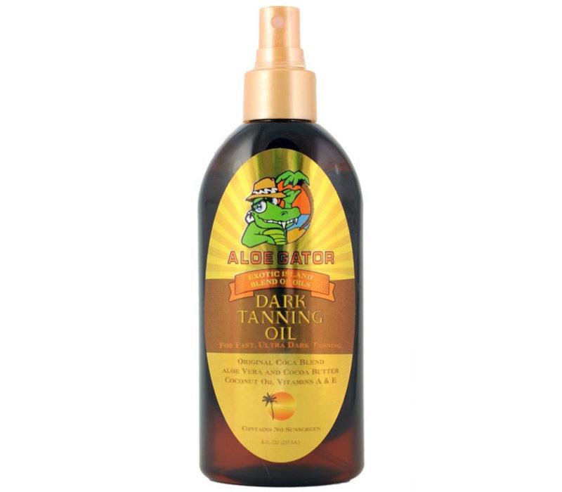Aloe Gator Dark Tanning Oil Spray