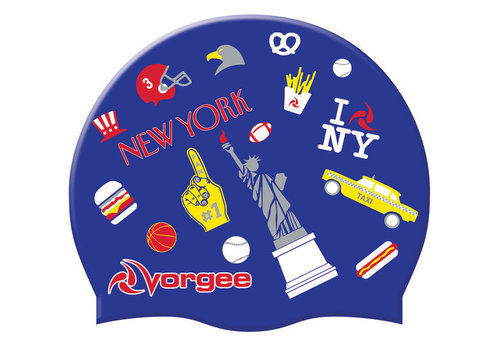 Vorgee Vorgee Global Swim Cap