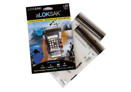 LOKSAK Loksak aLOKSAK Dry Bags 3.7 x 7 (2pcs)