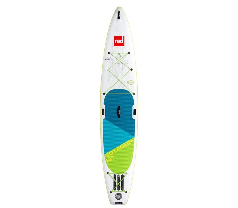 "Red Paddle Co 13'2"" Voyager+ MSL Inflatable SUP Board"