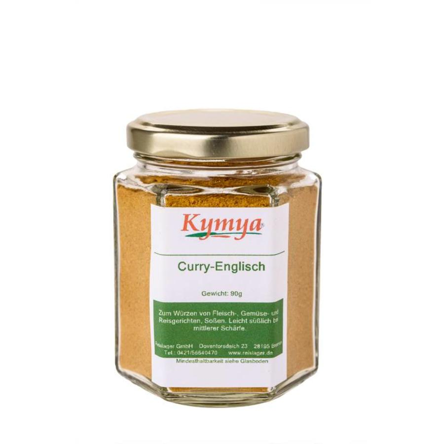 Curry-Englisch, 90g Pulver