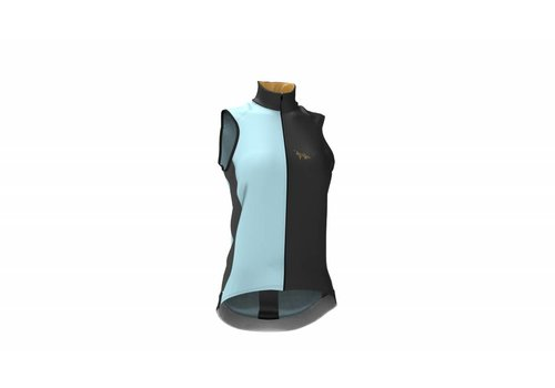 LaVos Cyclingwear Wind and waterproof vest - Celeste
