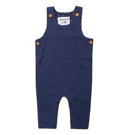 Dotty Dungarees Navy Diddy Dungarees