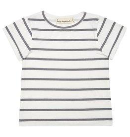 Dotty Dungarees Blue Stripe Summer T-Shirt