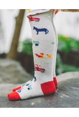 Toucan Blue Tractor Tights