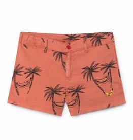 Bobo Choses Siesta Tennis Linen Shorts