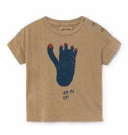 Bobo Choses Footprint Short Sleeve T-Shirt