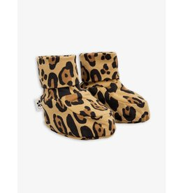 MINI RODINI Basic leopard baby boot