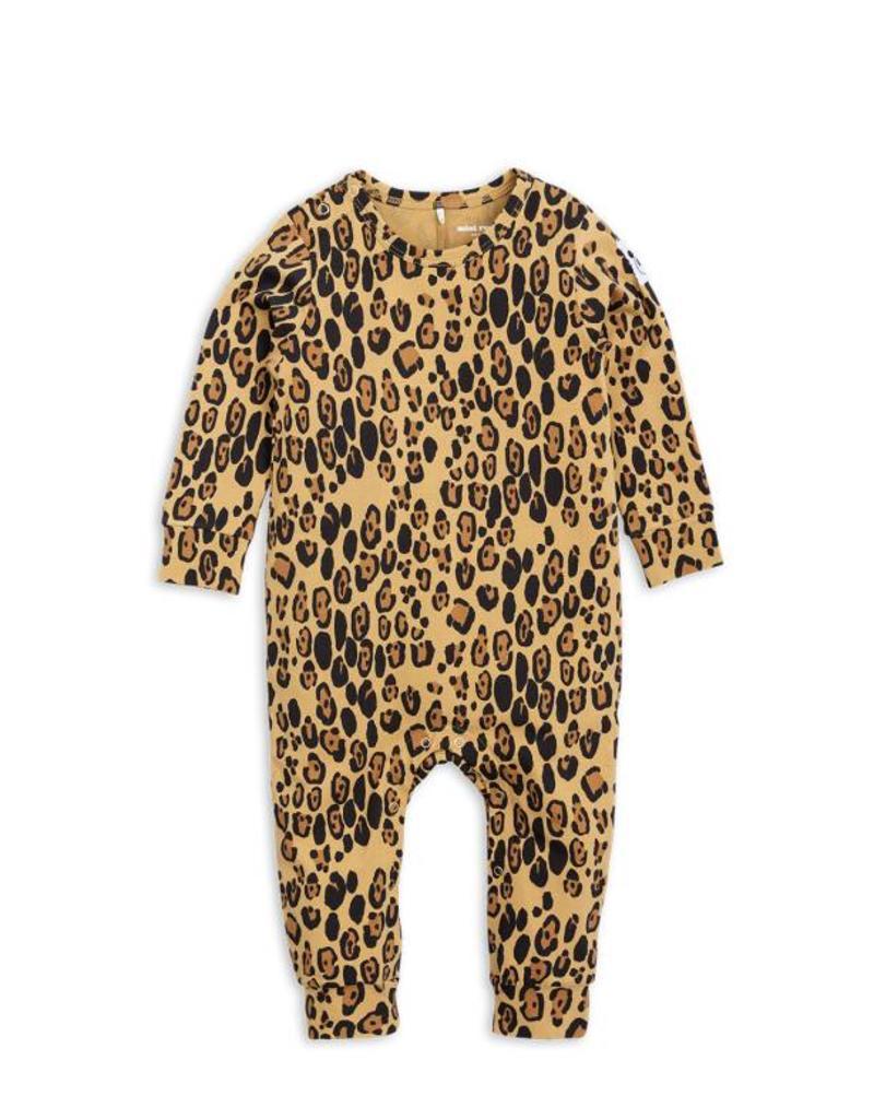 MINI RODINI Mini Rodini Basic leopard jumpsuit