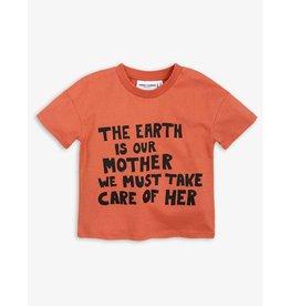 MINI RODINI Mother earth ss tee