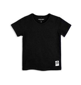 MINI RODINI Basic T-Shirt in schwarz von Mini Rodini bei Pilzessin