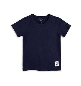 MINI RODINI Basic T-Shirt in dunkelblau von Mini Rodini bei Pilzessin