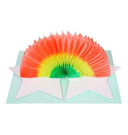 Meri Meri STAR & RAINBOW CARD