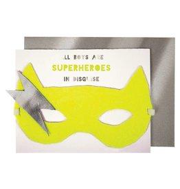 Meri Meri BOY SUPERHERO CARD