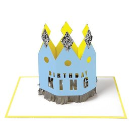 Meri Meri BIRTHDAY KING GREETING CARD
