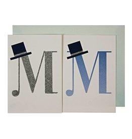 Meri Meri MR & MR BANNER CARD