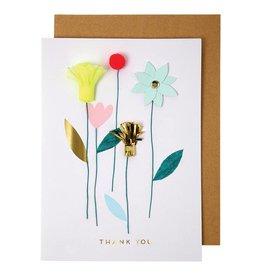 Meri Meri THANK YOU FLOWERS CARD