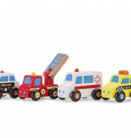 New Classic Toys Vehicles Set - 4 vehicles