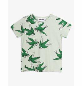 MINI RODINI Mini Rodini Swallows T-Shirt