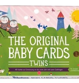 Milestone The Original Baby Cards Twins von Milestone™- deutsche Version