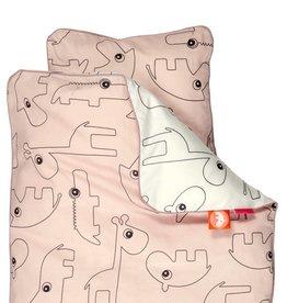 Done by Deer Babybettwäsche von Donebydeer Contour rosa